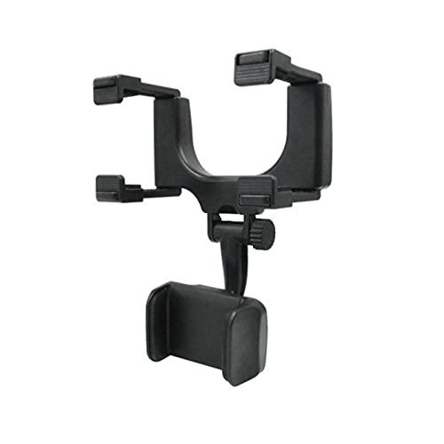 ARTOCT Soporte para teléfono de coche, soporte para teléfono móvil, espejo retrovisor de coche, soporte de navegación para grabadora de conducción y clip de fijación para todos los teléfonos móviles