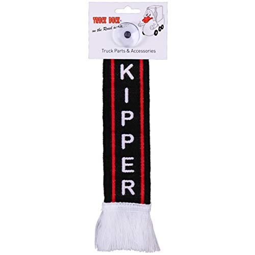 TRUCK DUCK® LKW Auto Minischal Kipper Fahrer Trucker Mini Schal Wimpel Flagge Fahne Saugnapf Spiegel Deko