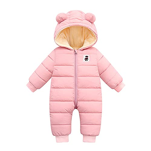 Alueeu Mameluco Pelele Bebé Linda Cómodo de Primavera y Otoño Niños Niñas Monos Ropa Grueso Outerwear Chaqueta Traje 0-2 Años