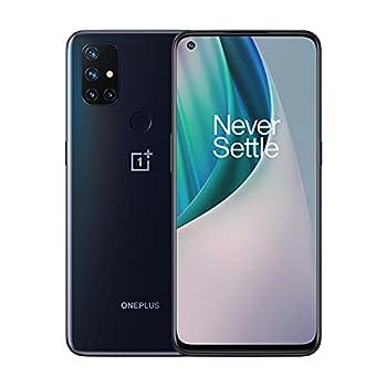 OnePlus Nord N10 5G Unlocked Smartphone Midnight Ice 90Hz Refresh Rate 6GB RAM + 128GB storage US Version Model BE2026