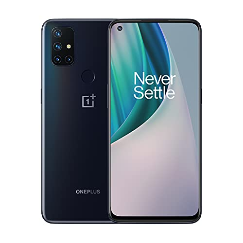 OnePlus Nord N10 5G Unlocked Smartphone, Midnight...