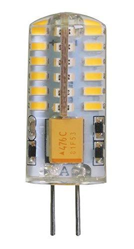 ECOBELLE® 10 x LED Lampen G4 2.5W 250 Lumen 12V AC/DC Neutralweiß 4000K Size: 13 x 38 mm, 360°