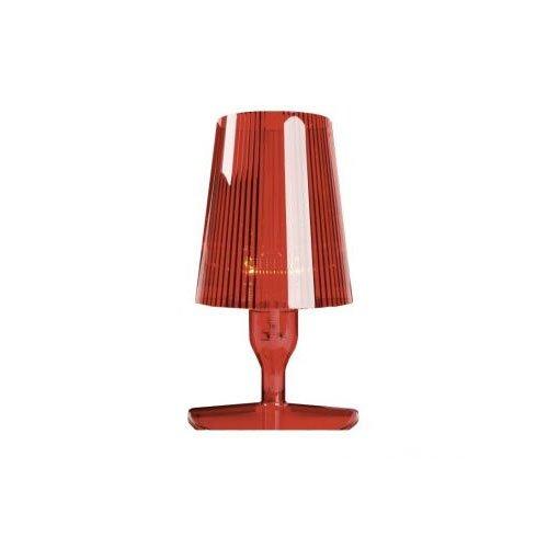 Kartell 9050Q3 bedlampje Take, rood