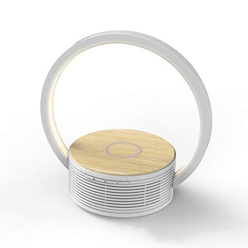 WFL-lámpara de escritorio Wireless Lámpara de mesa LED de carga rápida altavoz Bluetooth de la lámpara lámpara de escritorio plegable táctil Tercer Engranaje de ajuste de la lámpara lámpara de escrito
