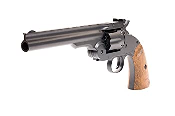 Barra Airguns Schofield No 3 Revolver - .177 Full Metal Airgun Pistol - CO2 BB Gun Shoot BB or Pellet Ammo