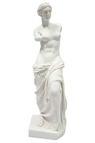 qwqqaq Marmor Polyresin Museum Replica,Griechisch Klassisch Venus De Milo Skulpturen,Sammlerstück Figurs,Göttin Der Liebe Und Schönheit Aphrodite Statuens L