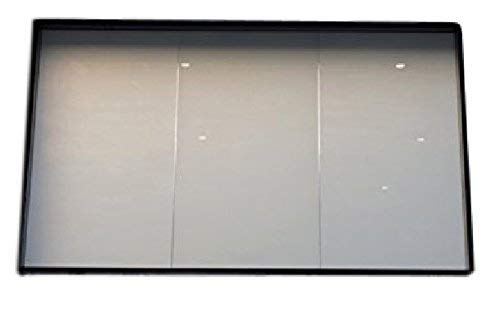 Smart Glass India Liquid crystal Eglass Switchable Film with Power Supply for Privacy (12 X 12 inch, Opaque and Transparent)