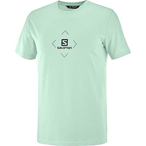 Salomon Cotton Camiseta Hombre Trail Running Senderismo
