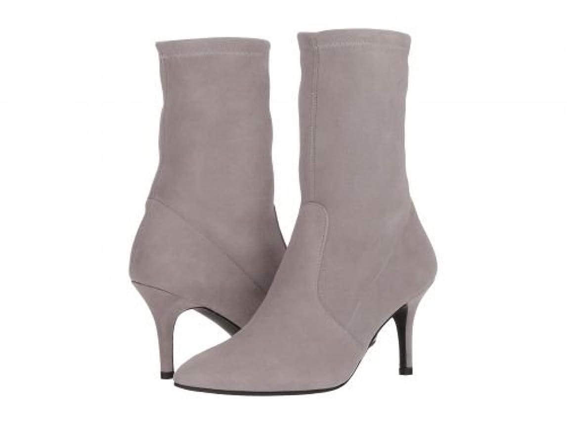 オリエンテーション不満ポケットStuart Weitzman(スチュアートワイツマン) レディース 女性用 シューズ 靴 ブーツ ミッドカフ Cling - Gris Suede [並行輸入品]