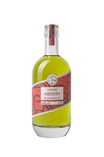 Leipziger Absinth   speziell abgerundet   64% vol   LSM Leipziger Spirituosen Manufaktur (1 x 0.5 l)