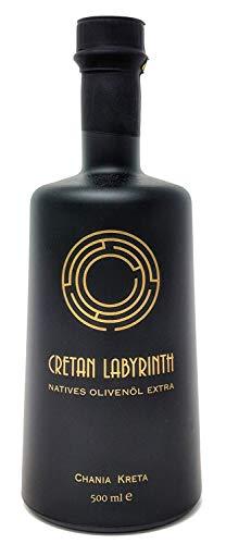 CRETAN LABYRINTH Extra Natives Olivenöl kaltgepresst aus 100{9598f93d6da1eaf8f044bdd70214176e69ac25ec104e50bbfdc6b7bb4257cdf3} handverlesenen Kreta Koroneiki-Oliven