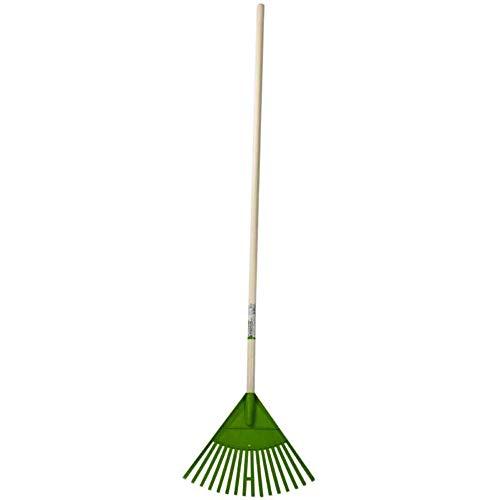 WERKA PRO - 10886 - Balai à Feuilles - 16 Dents - Vert