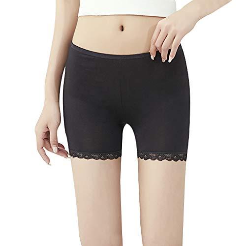 YCQUE - Badminton-Röcke & Skorts für Mädchen in Schwarz, Größe L