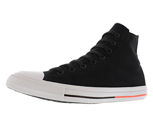 Converse Unisex Chuck Taylor All Star High Top Sneakers (8.5 D(M) US, Black Monochrome)