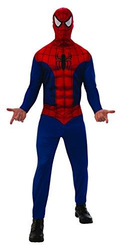 Rubie's - Déguisement Officiel - Marvel - Spiderman Déguisement, Hommes, I Rouge - Taille XL - I - 820958XL