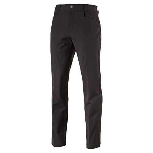 PUMA 576573 - Pantalones utilitarios elásticos para Hombre, Talla 34 x 34, Color Negro