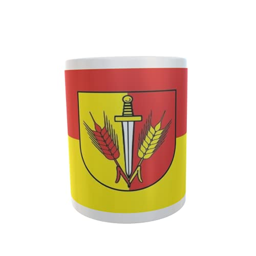 U24 Tasse Kaffeebecher Mug Cup Flagge Gardelegen OT Breitenfeld