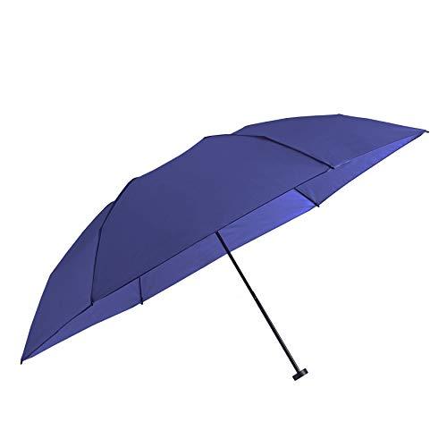 パール金属 折りたたみ 傘 超軽量 100g 手動開閉 100cm ネイビー 6本骨 N-7547