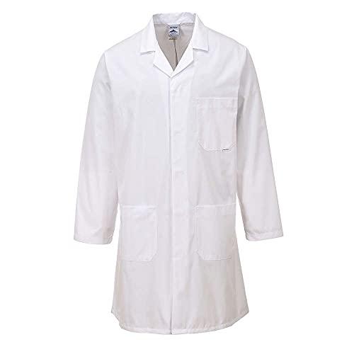 Portwest Blouse Standard pour homme, Couleur: Blanc, Taille: M, 2852WHRM