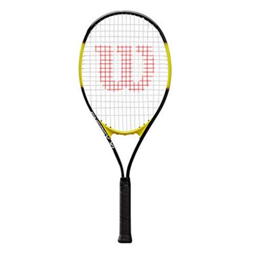 Tennisschläger for Anfänger Trainingsgeräte for Männer Und Frauen Outdoor-Sporttraining for Anfänger Leichter Und Praktischer (Color : Beige, Size : Long=27.5inches)