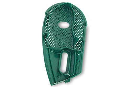 Grünes Gitter Abdeckgitter Abdeckung Ausblasgitter Abluftgitter für Hepafilter passend für Vorwerk Kobold 135 136 - VK135 VK136