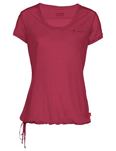 Vaude Damen T-shirt Women's Vallanta Shirt II, Red cluster, 40, 41004