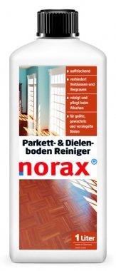 norax Parkett- & Dielenboden Reiniger 1 l - Reinigt und pflegt gleichzeitig, erhält das natürliche Erscheinungsbild des Parkettbodens, verhindert ein frühzeitiges Verblassen, Nachdunkeln oder die Graufärbung