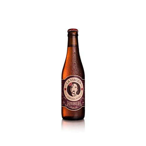 La Virgen Cerveza Artesana Jamonera - 24 Botellas de 330 ml - Total: 7920 ml