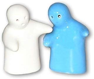 Geister als Salz und Pfefferstreuer ROT WEISS
