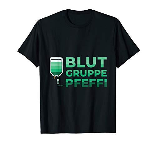 Pfeffi Crew Pfefferminzlikör Für Alkoholiker Freunde Pfeffi T-Shirt