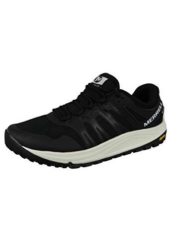 Merrell Nova GTX, Zapatillas de Running para Asfalto para Hombre, Negro (Black/Lime),...