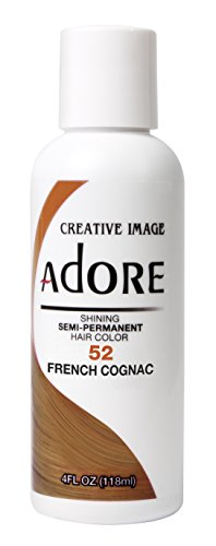 Adore Haartönung / Haarfarbe Semi Permament Color ,,52,, FRENCH COGNAC