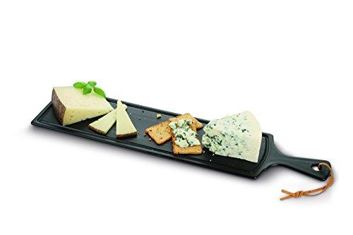 Boska 359022 Käse-/Tapasbrett Größe L, Porzellan, schwarz
