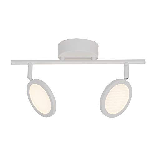 Brilliant G71513/05 Plafondlamp 2 l Metaal/Kunststof Wit