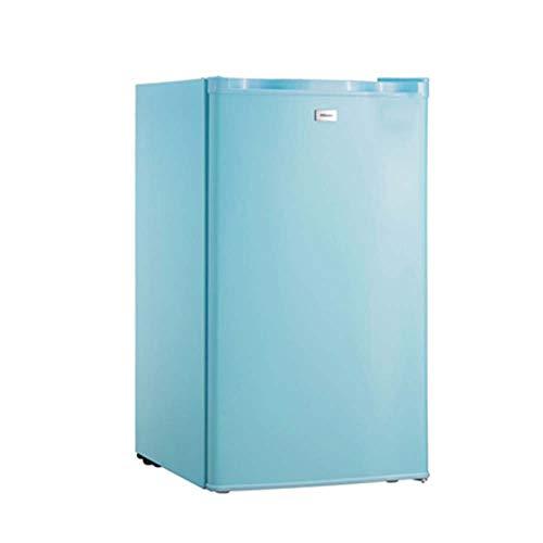 Car refrigerator Einzeltür Kühlschrank Kompakt-Gefrierschrank für Wohnmobile/Apartments/Schlafsäle Energiesparender Mini-Gefrierschrank - Verstellbarer Glasständer für kleine Getränkespeicher