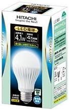 日立 LED電球(全光束:320 lm/昼光色相当)HITACHI 一般電球タイプ4.1W LDA4D