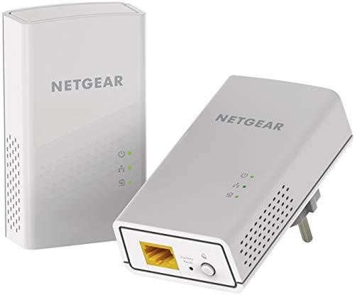 Netgear PL1200-100PES Kit Powerline AV1200, 2 Porte...