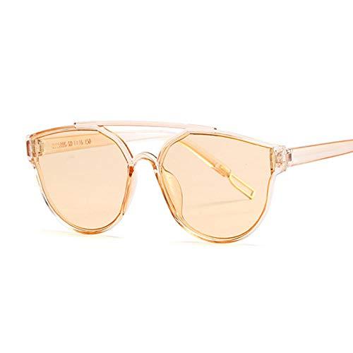 IRCATH Gafas de Sol de Ojo de Gato Plateadas Vintage para Mujer, Gafas de Sol de Ojo de Gato con Espejo de Moda para Mujer, Gafas UV400, adecuadas para Golf, Ciclismo, Pesca, Gafas de Sol-C3