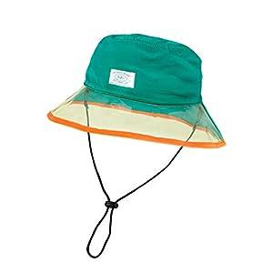 [グリンバディ] ハット 帽子 レイン 撥水 キッズ 男の子 女の子 アウトドア 水陸両用 NG-5378 グリーン 54cm