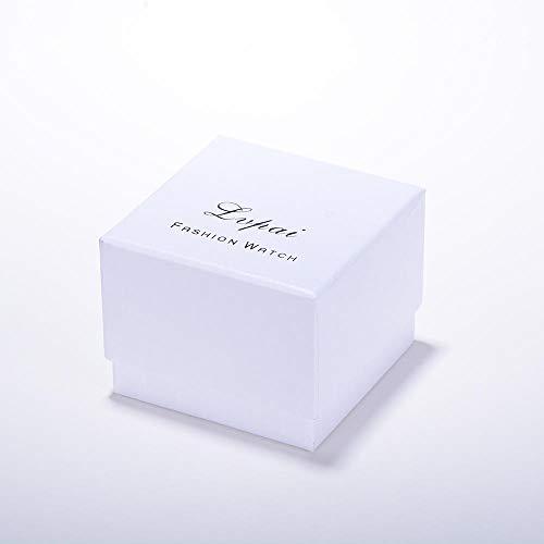 Powzz - Reloj inteligente con diseño de Star Net Red Watch Fashion Wild Casual Masculino y Female Student Watch Creative Magnet-La caja debe adquirirse por separado