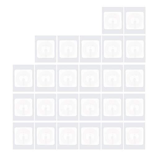NFC Tags(25 Stück) Selbstklebend vom Typ NTAG 215 NFC Aufkleber Mit 504 Byte Speicher | 25mm Durchmesser | Beschreibbar NFC Sticker Von TimesKey