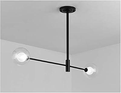 Moontang Luz Industrial del Colgante del Techo del LED Retro del Techo de la lámpara del