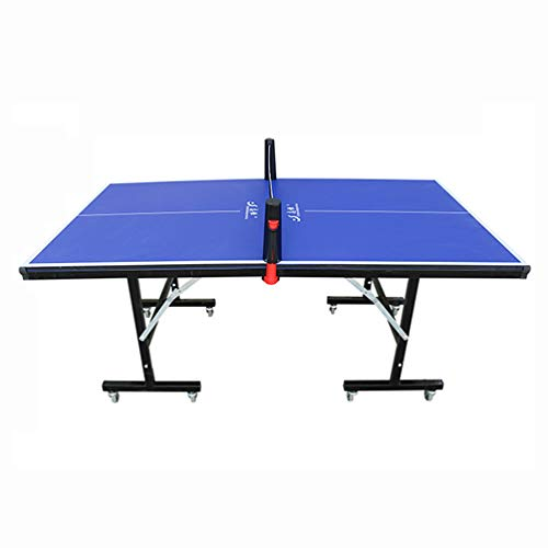 Best Buy! LHSG Folding Ping Pong Table, Easy Attach and Remove Folding Table for Indoor & Outdoor Us...