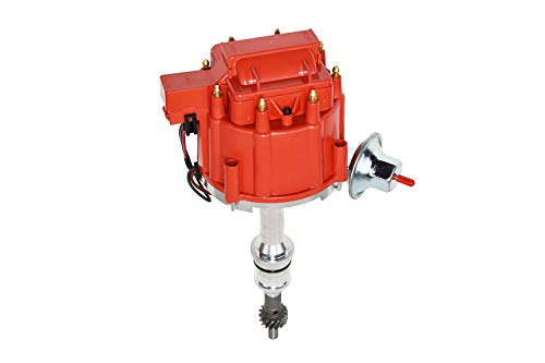 Top Street Performance JM6502R Ford Small Block 221-302 HEI Distributor with Red OEM Cap & 65K Volt Coil