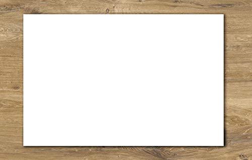 Schreibtischunterlage Papier DIN A2 | 40 Blatt zum Abreißen, blanko | Büro, Homeoffice, Schreibtischarbeit