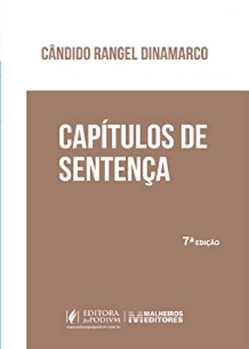 Capitulos de Sentanca - 07Ed/21
