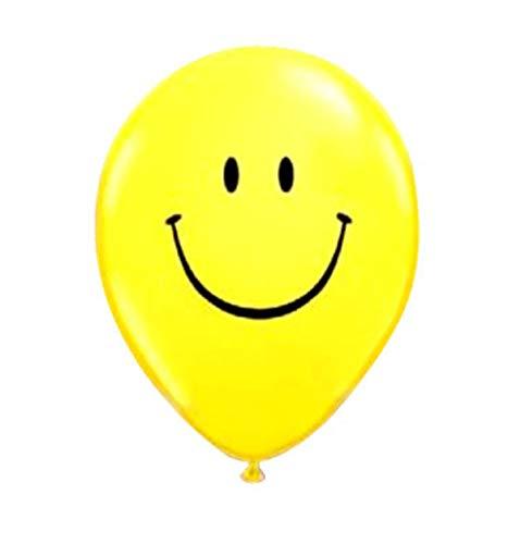 BWS Paquete de 100 Globos con Sonrisa 12