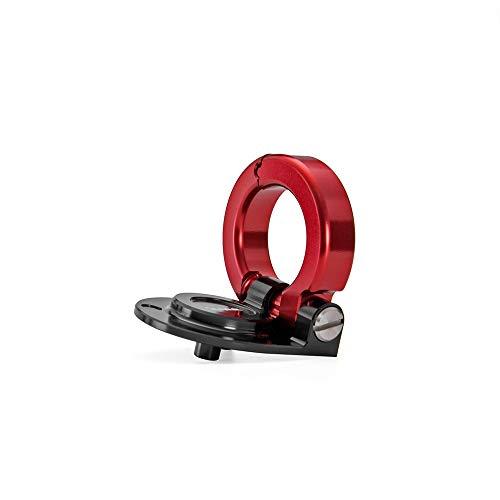 MUJUN Reserve Scooter Motorrad-Sturzhelm Haken Crochet Locks Teile for Piaggio Vespa GTS 300 GTS300 (Color : Black and red)