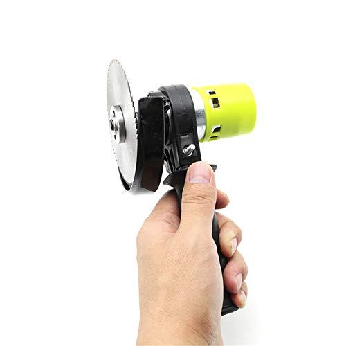 24V 90W de alta potencia eléctrica Sierra eléctrica Mini sierra con herramienta de corte de hoja circular de 4 pulgadas para corte de cebolla de ajo zingiber