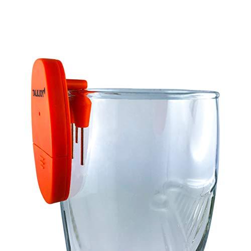 Profi Getränke Füllstandswarner akustisches Warnsignal Überlaufschutz Füllstandsmelder Wasseralarm Überlaufalarm Flüssigkeiten Überlaufwarner Blinde